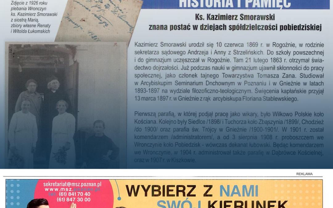 Oferta edukacyjna WSCKZiU nr 1 promowana w lokalnej społeczności na terenie gminy Pobiedziska!