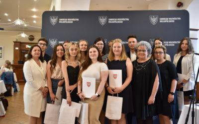 Stypendium za wyniki w nauce dla słuchaczy Wielkopolskich Samorządowych Centrów Kształcenia Zawodowego i Ustawicznego